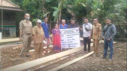Suasana Pembagian RLTH Desa Duruan Daun