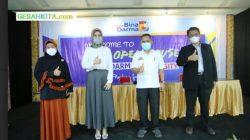 Suasana Vaksinasi Serentak Di Aula Kampus UBD Palembang.jpg 2