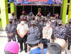 TNI AL LANTAMAL IV KEMBALI BERI VAKSINASI DOSIS DUAKEPADA MASYARAKAT MARITIM