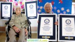 nenek kembar usia 107 per 1 september 2021