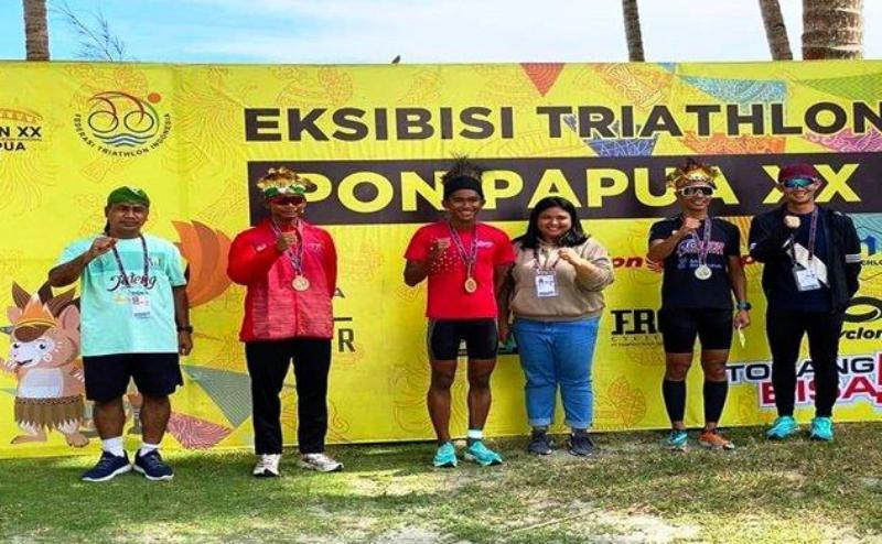 Kontingen Sumatera Selatan mengantongi dua medali perak dan satu perunggu