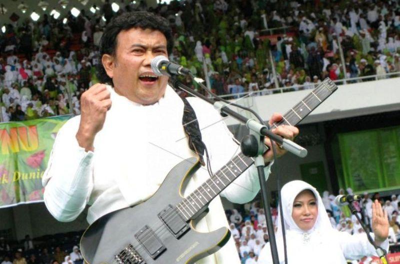 Bang Haji dalam sebuah penampilan