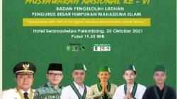 Banner Munas BPL HMI VI Palembang