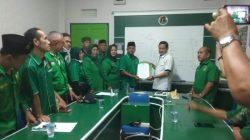 Suasana Saat PAC PPP Palembang yang notabene saat ini sah, Dimana Menggelar aksi sampaikan 4 Tuntutan