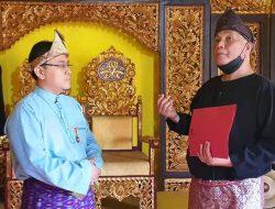 Turisman Sampaikan 'Bendel Hakiki' Disebut Untuk Kebangkitan Kesultanan Palembang Darussalam