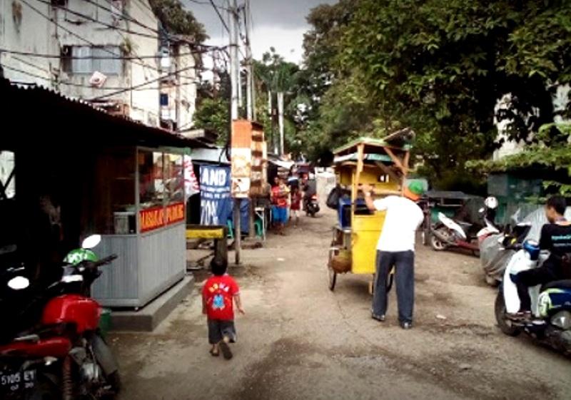 Salah Satu Sudut Di kawasan Rusun 26 ilir Kota Palembang