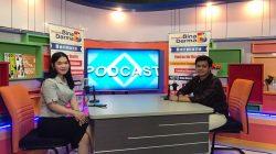 Suasana Studio Bina Darma TV Saat Casting..
