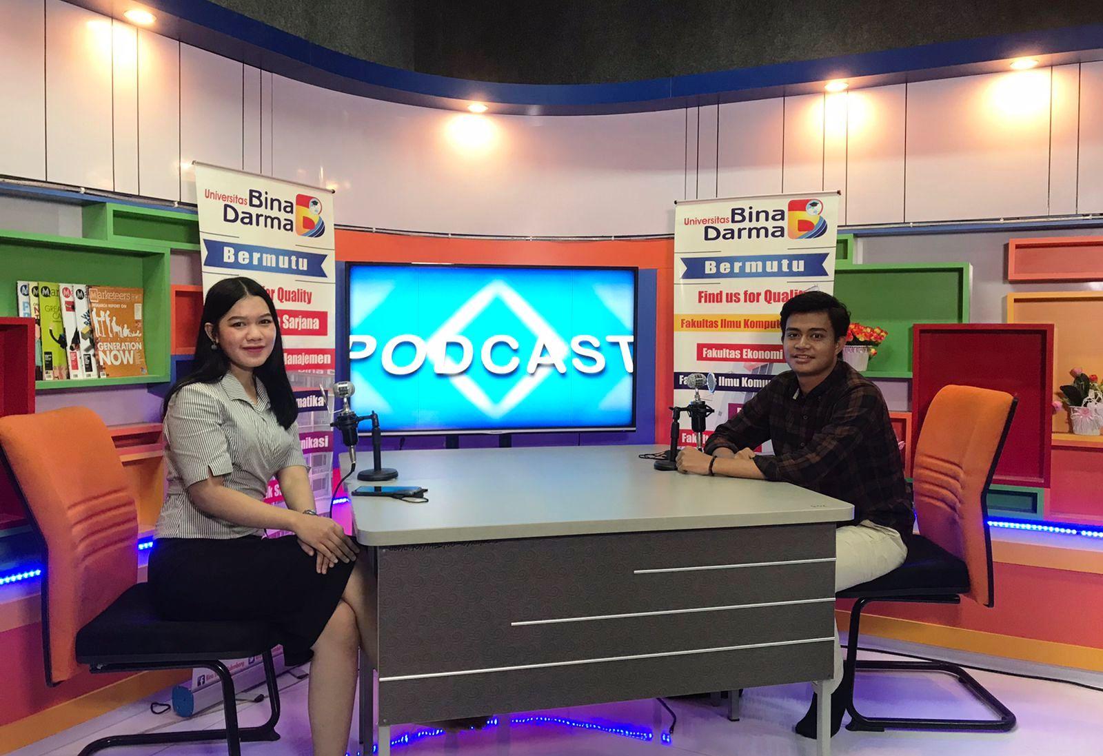 Suasana Studio Bina Darma TV Saat Casting.