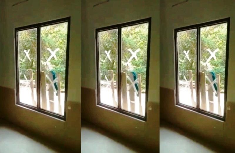 Tangkapan Layar Sebuah Pintu Masjid Kiriman Video Ustad Beni Apriadi