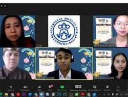 Pada Ajang UMKM Bali Bisnis Plan Competition, Mahasiswi UBD Sabet Juara III
