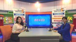 Suasana Interactive Dialogue Di Studio TV Ubd Menghadirkan CEO Kampung Pempek